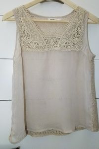 ❤ Sleeve less blouse w/ Lace